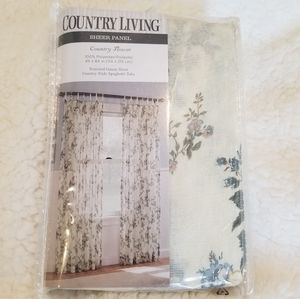 🌻 Country Living Sheer Panel